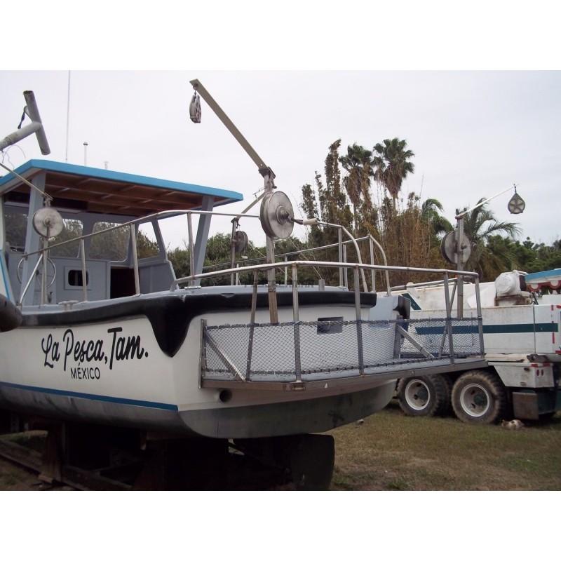 Motor 453 Detroit Diesel 120 HP de 33 Pies, Para Pesca